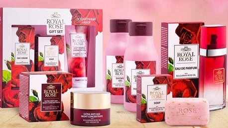 Kolekce Royal Argan Rose Oil pro muže a ženy