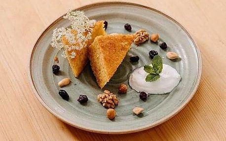Romantické menu se středověkou lázní