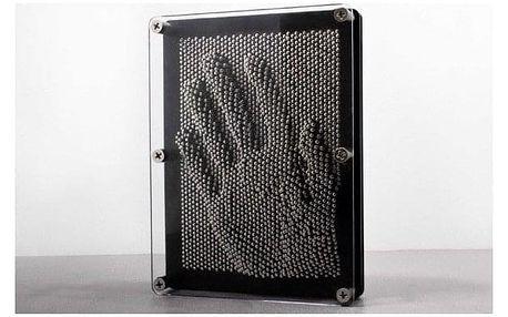3D obraz z hřebíků - Pinart