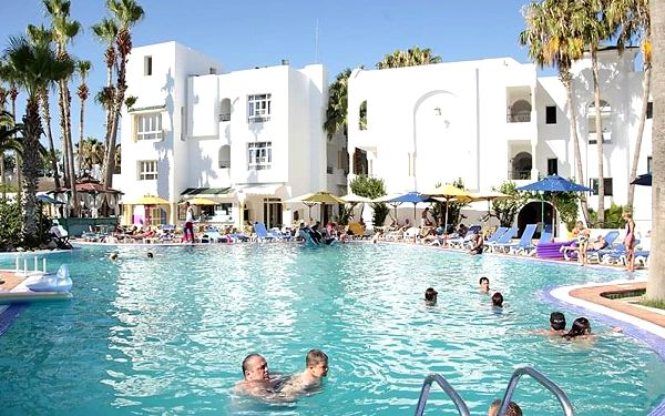 Hotel Nesrine, Tunisko pevnina, letecky, all inclusive4