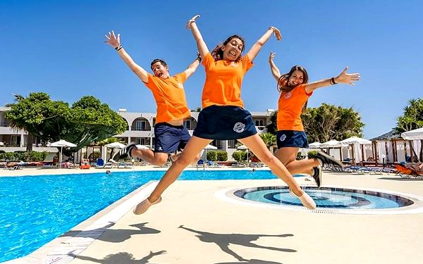 Hotel Lardos Bay, Rhodos, letecky, all inclusive2