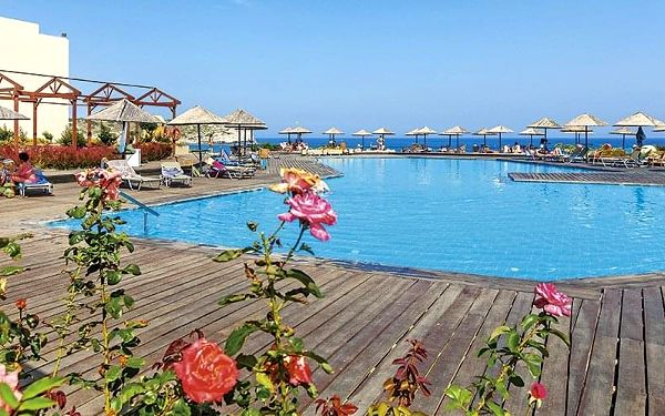 Hotel Lutania Beach, Rhodos, letecky, all inclusive2