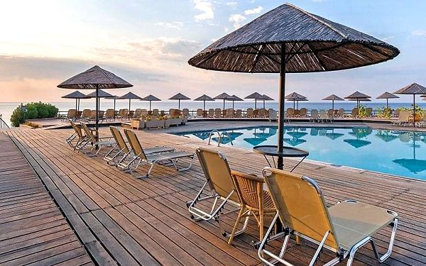 Hotel Lutania Beach, Rhodos, letecky, all inclusive4
