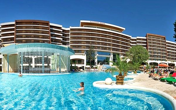 Hotel Flamingo Grand Hotel, Varna, letecky, polopenze5