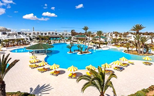 Hotel Holiday Beach Djerba & Aquapark, Djerba, letecky, all inclusive