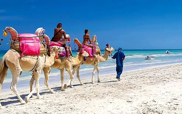 Hotel Bakour Beach By Checkin, Djerba, letecky, all inclusive5