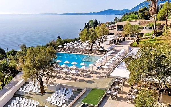 Hotel Aeolos Beach & Resort, Korfu, letecky, all inclusive
