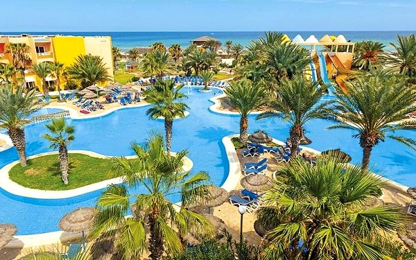 Hotel Caribbean World Djerba, Djerba, letecky, all inclusive