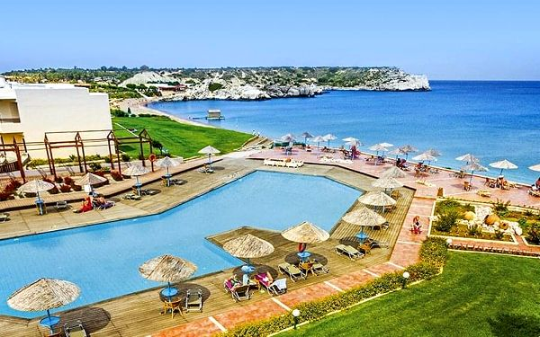 Hotel Lutania Beach, Rhodos, letecky, all inclusive