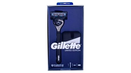 Gillette Fusion Proshield Chill dárková kazeta pro muže holicí strojek s jednou hlavicí 1 ks + stojánek na holicí strojek 1 ks