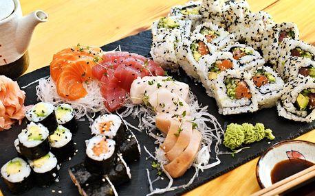 Nová sushi restaurace u Karláku: 24–44 ks rolek