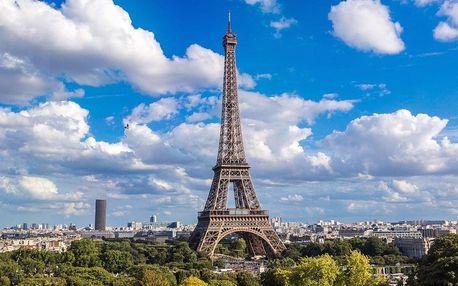 Muzejní Paříž s návštěvou Eiffelovy věže