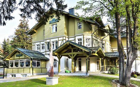 4* hotel ve Sklářské Porubě: snídaně a wellness