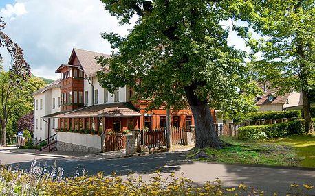 Polsko u českých hranic: Hotel Świeradów *** se vstupy do solné jeskyně a slevou na procedury + polopenze