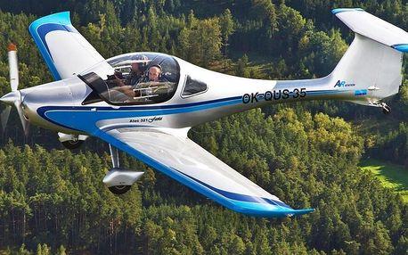 Let sportovním letounem z letiště Příbram