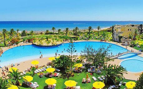 Tunisko - Mahdia letecky na 7-15 dnů, strava dle programu