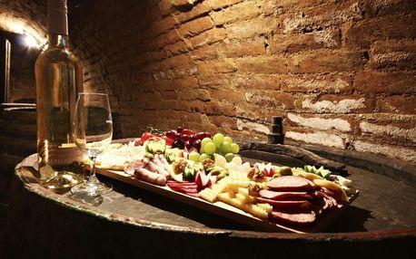 Zimní vinařský pobyt ve všední dny na jižní Moravě s neomezenou konzumací vín