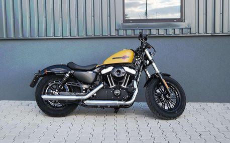 Showcars - Zapůjčení motocyklu Harley Davidson Forty-Eight až na 8 hodin