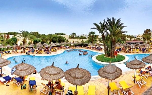 HOTEL CLUB MAGIC LIFE PENELOPE BEACH & AQUAPARK, Djerba, Tunisko, Djerba, letecky, all inclusive2