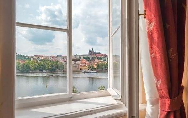 Elegantní hotel na Starém Městě u Karlova mostu 3 dny / 2 noci, 2 os., snídaně2