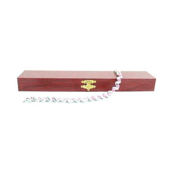 Magnetický náramek s růžovými a bílými kamínky - SJH 6392