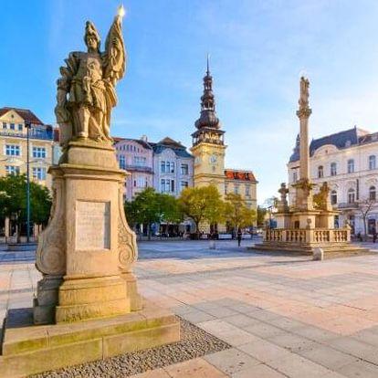 Centrum Ostravy poblíž všech památek v secesním Hotelu Maria *** se snídaní