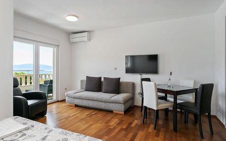 Chorvatsko, Drvenik: Contemporary Apartment in Drvenik with Balcony