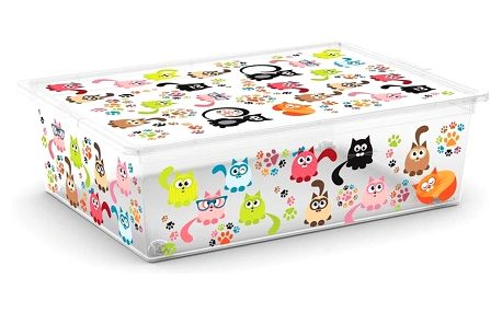 Úložný box Kis C-Box Cute Animals L 27 l