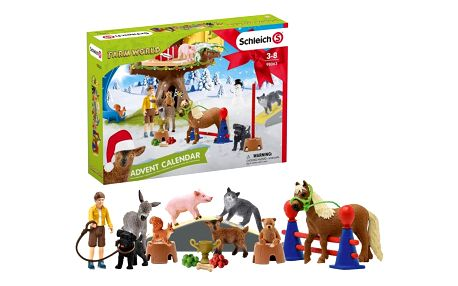 Schleich Adventní kalendář 2020 Domácí zvířata