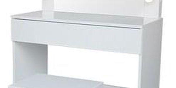 Kosmetický stolek se zrcadlem Kamila, 140 x 40 x 80 cm
