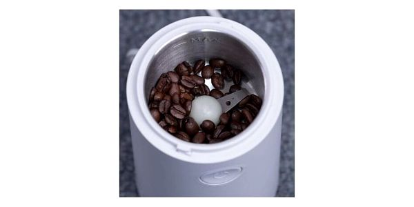 Orava Elektrický mlýnek na zrnkovou kávu, černá3