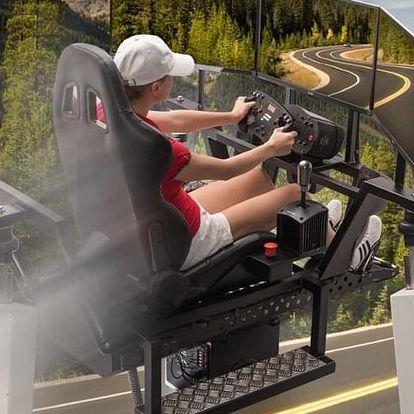 VR motion - simulace jízdy i letu - 60 minut