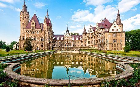 Romantická pohádka v komnatách polského hradu