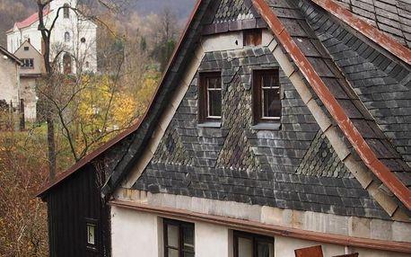 Liberecký kraj: Čertův Mlýn - chaloupka pro rodiny s dětmi