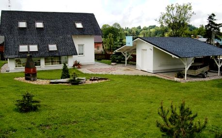 Liberecký kraj: Stylish Holiday Home in Korenov Bohemian with Private Garden