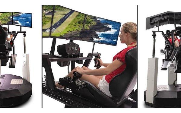 VR motion - simulace jízdy i letu | Praha | Celoročně (SO - NE). | 30 minut vč. instruktáže.3