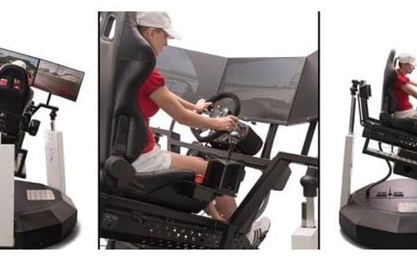 VR motion - simulace jízdy i letu | Praha | Celoročně (SO - NE). | 30 minut vč. instruktáže.5