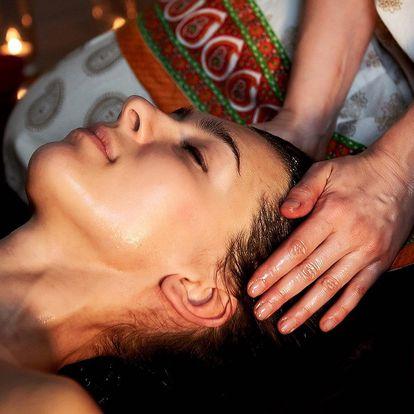 Thajská olejová masáž s účinky proti migréně
