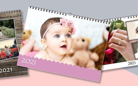 Fotokalendář z vlastních fotografií A4 nebo A3