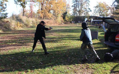 Kurz sebeobranné střelby pro začátečníky i mírně pokročilé včetně video záznamu