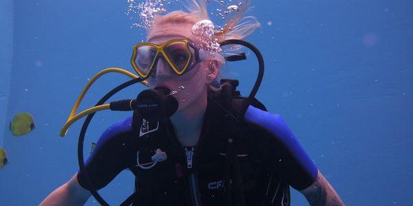 Potápění na zkoušku s instruktorem2