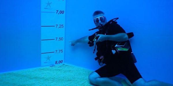 Potápění na zkoušku s instruktorem3