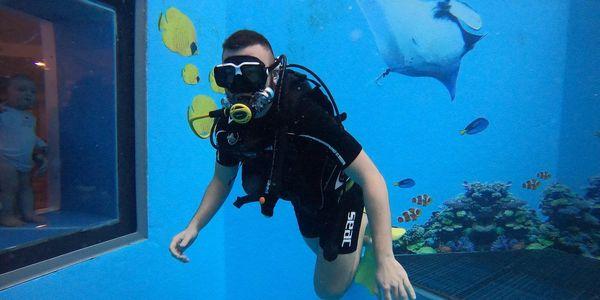 Potápění na zkoušku s instruktorem4