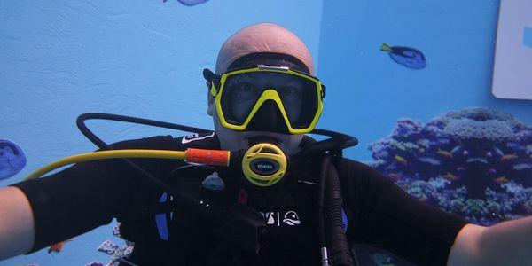 Potápění na zkoušku s instruktorem5