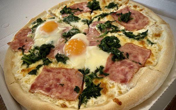 1× italská pizza (ø 32 cm) dle výběru, odnos s sebou2