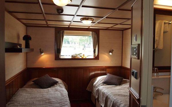 Ubytování na vlnách, Praha 1, 2 noci v kajutě Superior, 2 osoby, 3 dny3