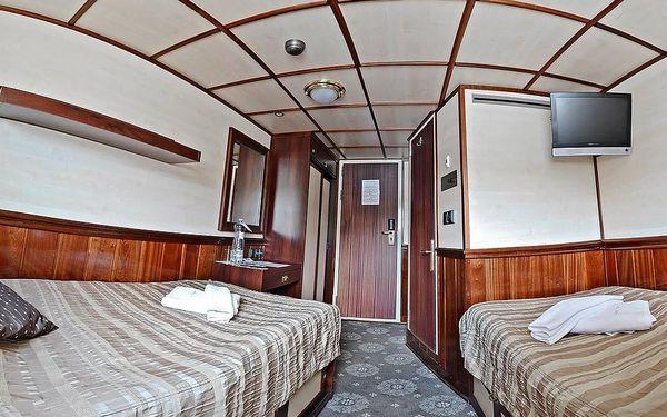 Pobyt na hotelové lodi s výletem do Čertovky, Praha 1, 2 noci v kajutě Superior, 2 osoby, 3 dny4
