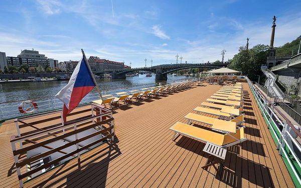 Pobyt na hotelové lodi s výletem do Čertovky, Praha 1, 2 noci v kajutě Superior, 2 osoby, 3 dny5