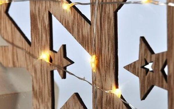 Solight LED vánoční hvězda, 29 cm, teplá bílá4