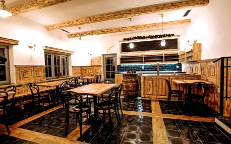 Pivní hotel Zlatá kráva - pípa na pokoji + pivní wellness